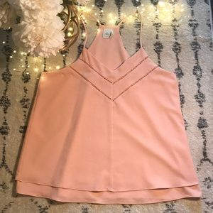 Paper Crane Dusty Pink Top 🎀 size medium